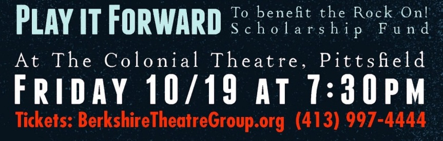 Play It Forward - Oct 19 - Colonial Theater